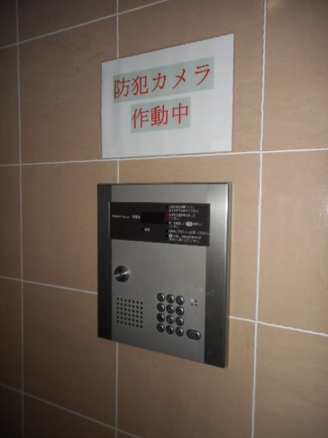 プチリヴェール昭和町 401号室のセキュリティ