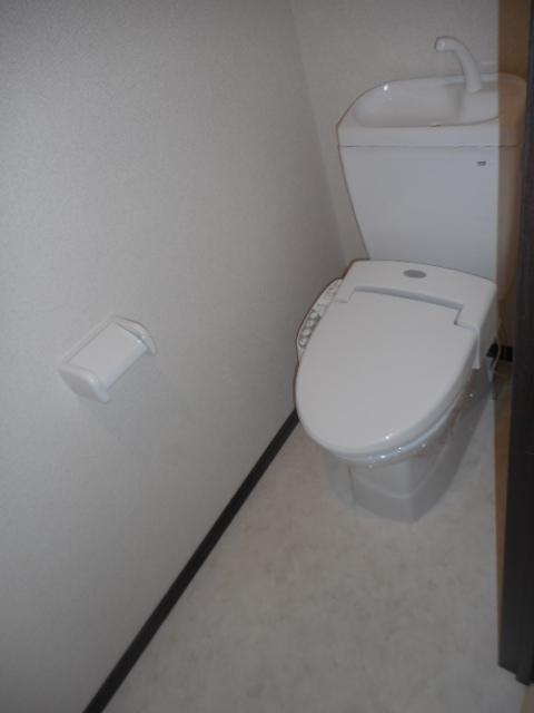 プチリヴェール昭和町 401号室のトイレ