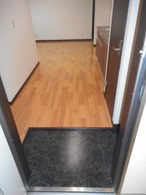 プチリヴェール昭和町 401号室の玄関