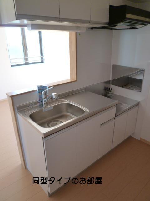 グレイス 玉木田 03020号室のキッチン