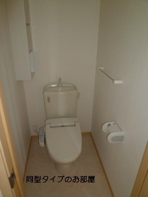 グレイス 玉木田 03020号室のトイレ