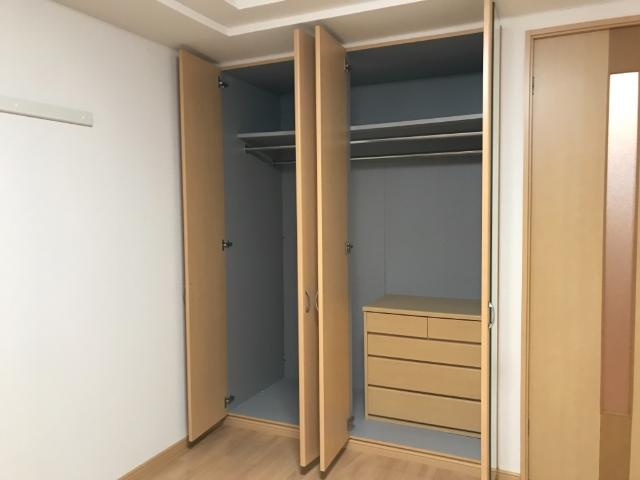 グランド ソレイユ 203号室の収納