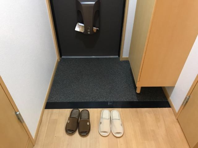 グランド ソレイユ 203号室の玄関