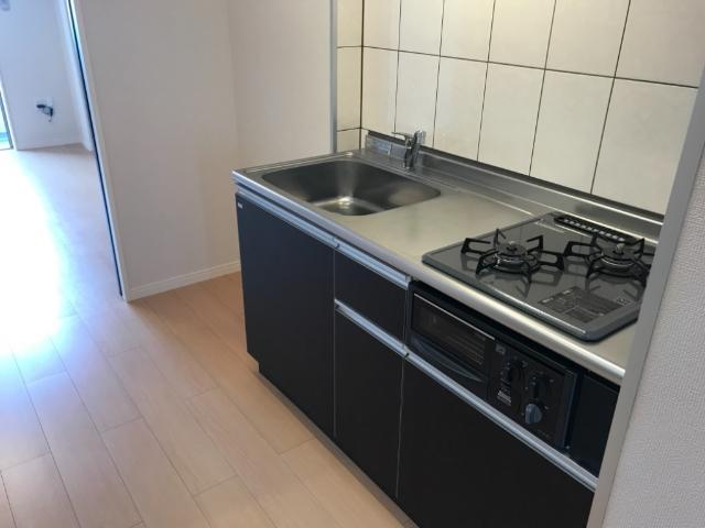 トレシャーナ 410号室のキッチン
