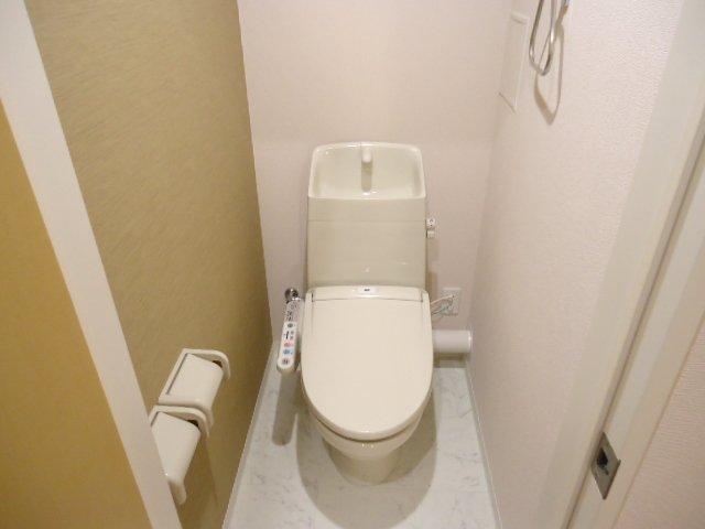 メゾン・ド・新堀 201号室のトイレ