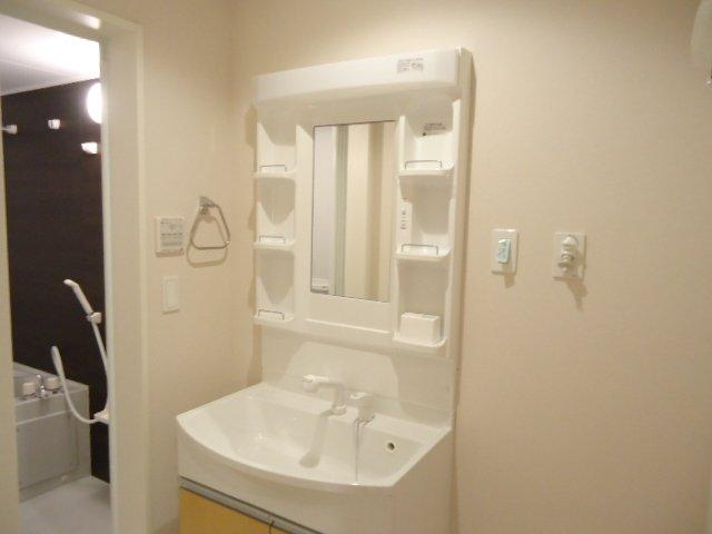 メゾン・ド・新堀 201号室の洗面所