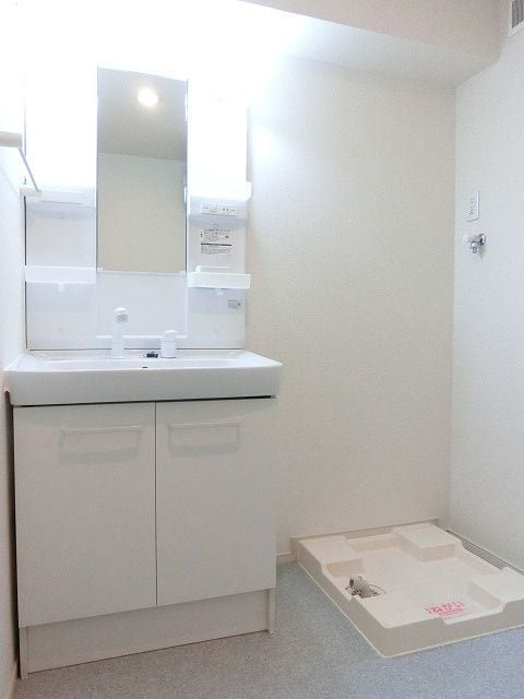 グランテージ 02020号室の洗面所