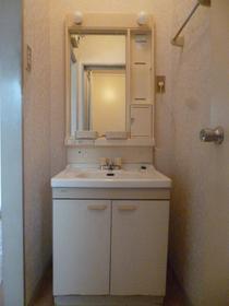 サンコーポ麻樹 103号室の洗面所