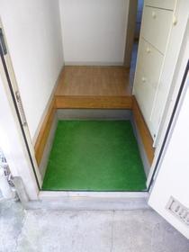 サンコーポ麻樹 103号室の玄関