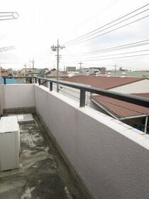 グリーンガーデン武蔵浦和 0310号室のバルコニー
