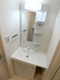 ディアレイシャス西川口 601号室の洗面所