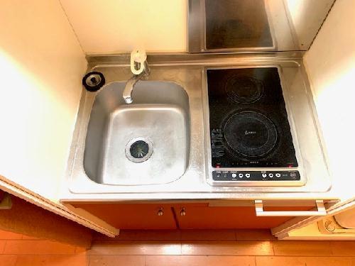 レオパレスG&C 204号室の風呂