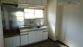 KハイツC 201号室のキッチン