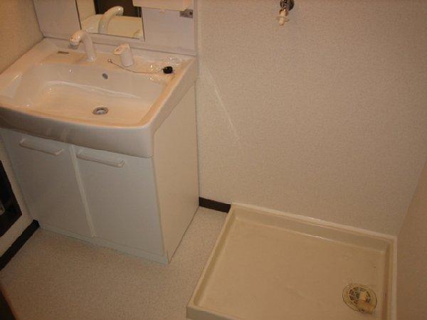 アビタシオン1棟 205号室の洗面所
