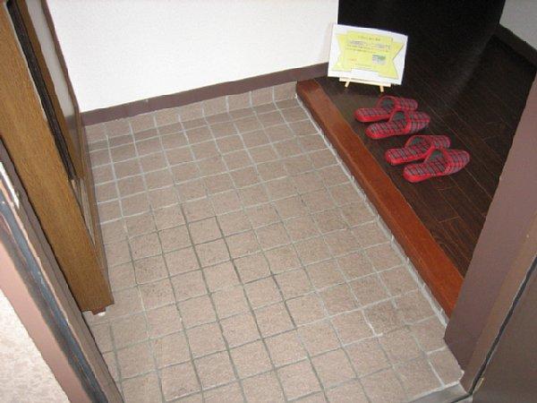 アビタシオン1棟 205号室の玄関