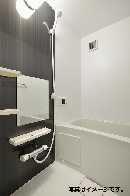 Force高畑 201号室の風呂