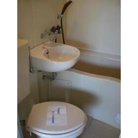 緑が丘グリーンヒルビル 303号室のトイレ
