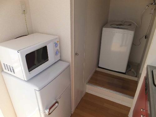 レオパレスウォーレン北安東 101号室のキッチン