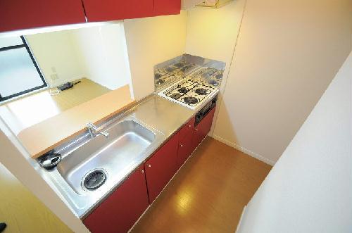 レオパレスFragrance 101号室のキッチン