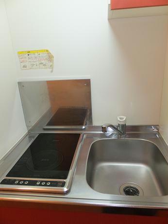 レオパレスエクセル 108号室のキッチン