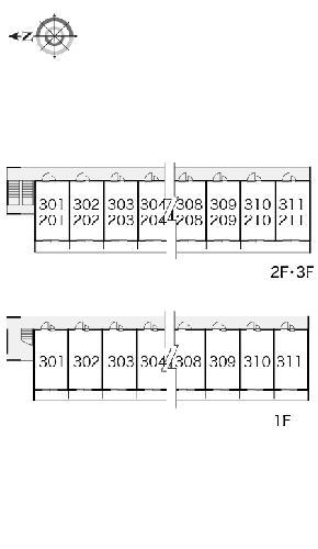 レオパレス富士見Ⅱ 302号室のその他