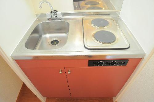 レオパレスハーモニーチャット 205号室のキッチン