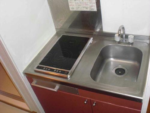 レオパレス小町A 102号室のキッチン