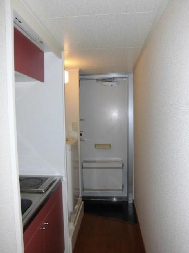 レオパレスプリムラ 203号室の玄関