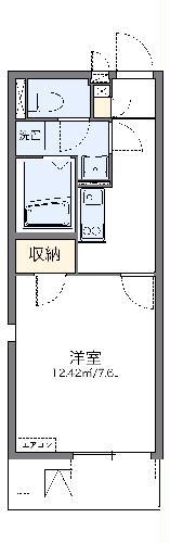 レオネクストリヴィエール武庫川・304号室の間取り