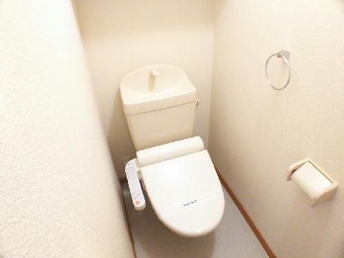 レオネクストスイートピー 206号室のトイレ