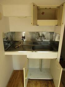 プラザ ドウメドック 110号室のキッチン