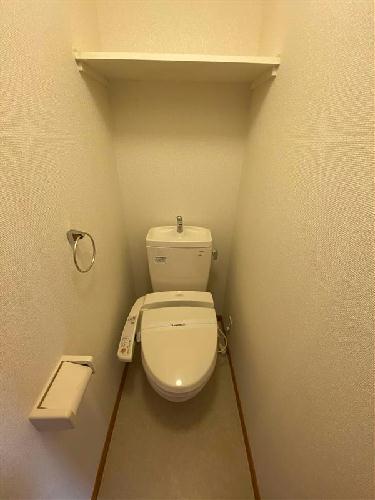レオパレスハピネス光が丘 102号室のトイレ