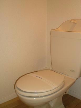 レオパレス諏訪Ⅱ 207号室のトイレ