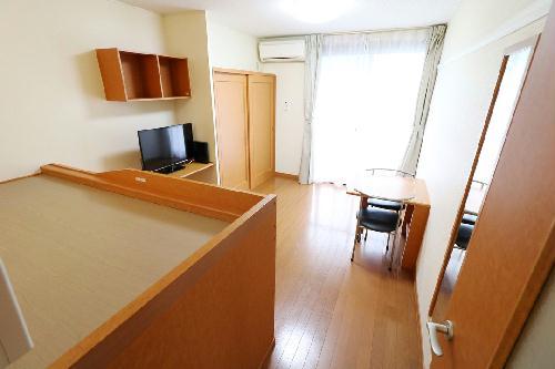 レオパレスアルモニ2番館 105号室のキッチン