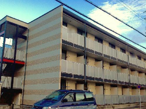 レオパレスアルモニ2番館の外観
