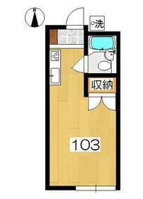 アーバンハウス生田1号館・103号室の間取り