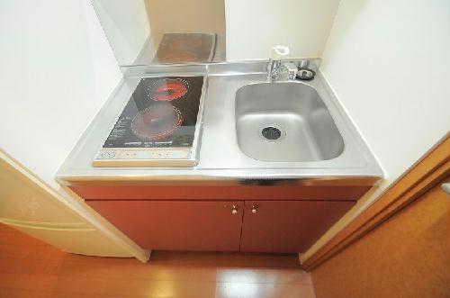 レオパレスフォンティーヌ 208号室のキッチン