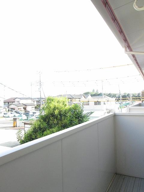 アンプルール稲田 02030号室のバルコニー