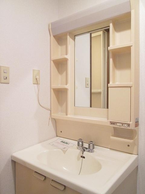 アンプルール稲田 02030号室の洗面所