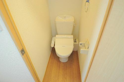レオパレスエスポワールⅡ 206号室のトイレ