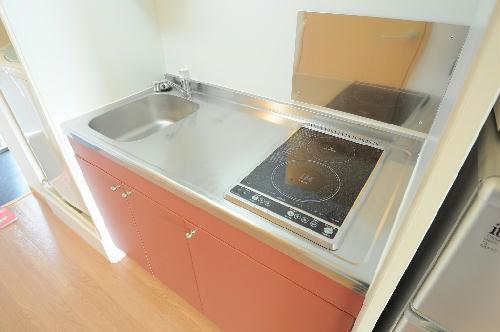 レオパレスエスポワールⅡ 206号室のキッチン
