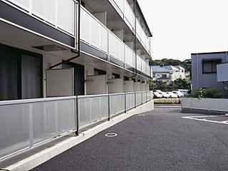 レオパレスエクセルハイムⅡ 302号室のバルコニー
