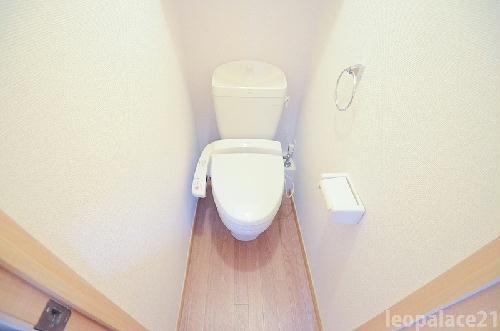 レオパレスエクセルハイムⅡ 302号室のトイレ