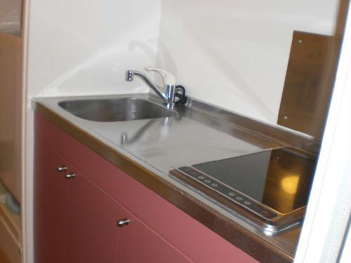 レオパレスエクセルハイムⅡ 305号室のキッチン