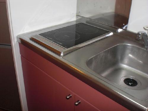 レオパレス渡Ⅰ 205号室のキッチン