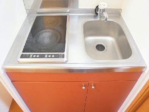 レオパレスマウンテン如意申 108号室のキッチン