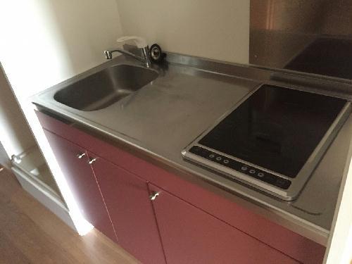 レオパレスグリーンビュー和田 105号室のキッチン