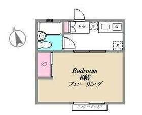 リフレハイツ・103号室の間取り