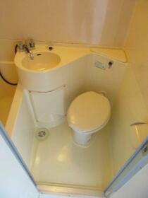 プラザ ドウメドック 203号室のトイレ