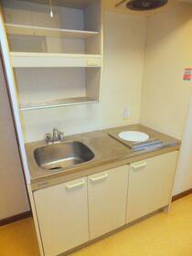 ガストハウス府中 205号室のキッチン
